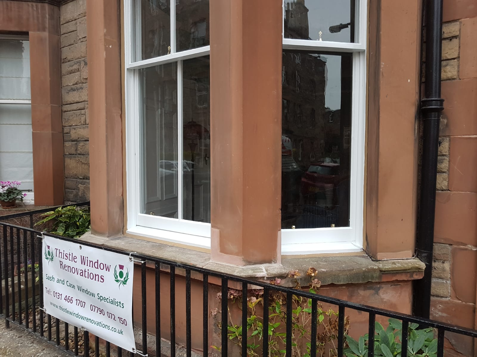 Sash & Case Window Restoration Edinburgh
